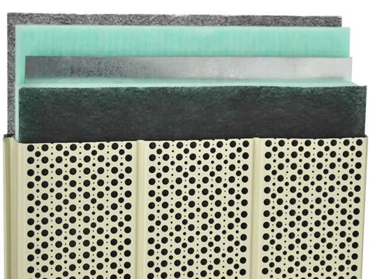 Pannelli fonoassorbenti – Pannelli fonoisolanti