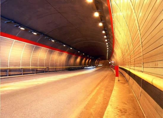 Sound-proofing for tunnels and subways