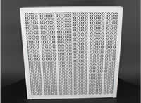 Double-sided absorbing metal panel METALQUADRO
