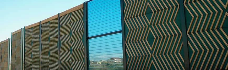 Wood Noise Barriers for Motorways
