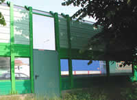 Soundproof Doors For Road Barriers